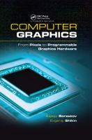 Cover image for Computer graphics : from pixels to programmable graphics hardware