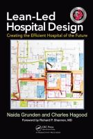 Cover image for Lean-led hospital design : creating the efficient hospital of the future