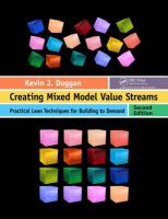 Cover image for Creating mixed model value streams :practical lean techniques for building to demand[electronics resource]