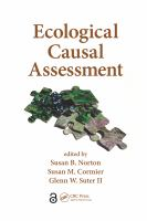 Cover image for Ecological causal assessment