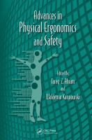 Cover image for Advances in physical ergonomics and safety