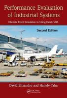 Cover image for Performance evaluation of industrial systems : discrete event simulation in using Excel[electronics resource] /VBA