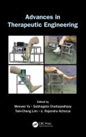 Cover image for Advances in therapeutic engineering