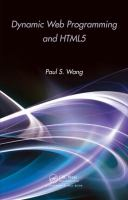 Cover image for Dynamic web programming and HTML5