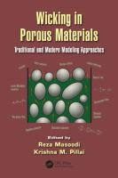Cover image for Wicking in porous materials : traditional and modern modeling approaches