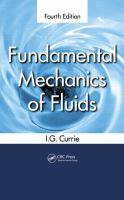 Cover image for Fundamental mechanics of fluids