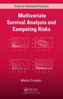Cover image for Multivariate survival analysis and competing risks