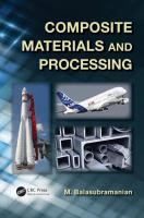 Cover image for Composite materials and processing