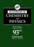 Cover image for CRC handbook of chemistry and physics
