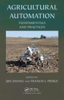 Cover image for AGRICULTURAL AUTOMATION : FUNDAMENTALS AND PRACTICES