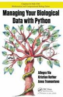 Cover image for Managing your biological data with Python