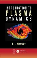 Cover image for Introduction to plasma dynamics