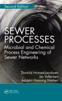 Cover image for Sewer processes : microbial and chemical process engineering of sewer networks