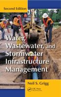 Cover image for Water, wastewater, and stormwater infrastructure management