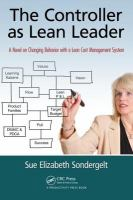 Cover image for The controller as lean leader : a novel on changing behavior with a lean cost management system