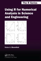 Cover image for Using R for numerical analysis in science and engineering