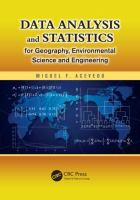 Cover image for Data analysis and statistics for geography, environmental science, and engineering
