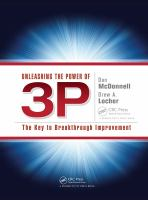 Cover image for UNLEASHING THE POWER OF 3P : The Key to Breakthrough Improvement