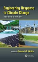 Cover image for Engineering response to climate change