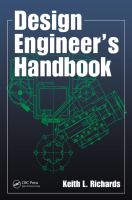 Cover image for Design engineer's handbook