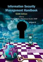 Cover image for Information security management handbook Volume 6
