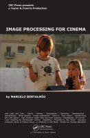 Cover image for Image processing for cinema