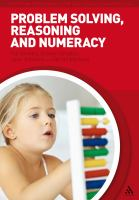 Cover image for Problem solving, reasoning and numeracy