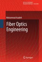 Cover image for Fiber optics engineering