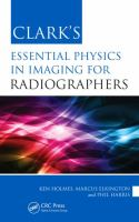 Cover image for Clark's essential physics in imaging for radiographers