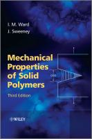 Cover image for Mechanical properties of solid polymers.