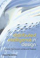 Cover image for Distributed intelligence in design