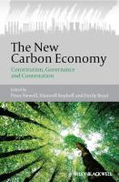 Cover image for The new carbon economy