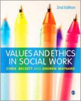 Cover image for Values and ethics in social work