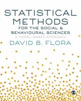 Cover image for Statistical methods for the social & behavioural sciences : a model-based approach