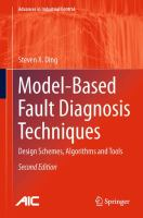 Cover image for Model-based fault diagnosis techniques : design schemes, algorithms and tools
