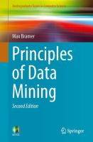 Cover image for Principles of data mining