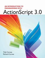 Cover image for An introduction to programming with ActionScript 3.0