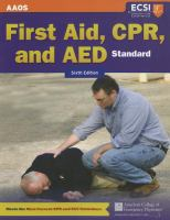 Cover image for First aid, CPR, and AED Standard