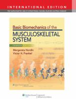 Cover image for Basic biomechanics of the musculoskeletal system