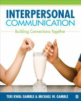 Cover image for Interpersonal communication : building connections together