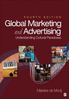 Cover image for Global marketing and advertising : understanding cultural paradoxes
