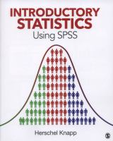 Cover image for Introductory statistics using SPSS