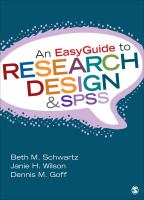 Cover image for An easyguide to research design and SPSS