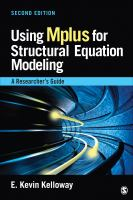 Cover image for Using Mplus for structural equation modeling : a researcher's guide