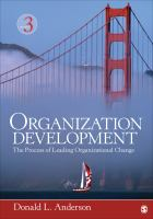 Cover image for Organizational development : the process of leading organizational change