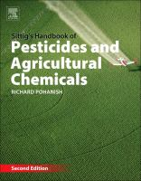 Cover image for Sittig's handbook of pesticides and agricultural chemicals