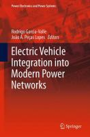 Cover image for Electric vehicle integration into modern power networks