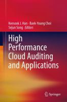 Cover image for High performance cloud auditing and applications