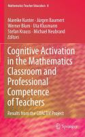 Cover image for Cognitive activation in the mathematics classroom and professional competence of teachers : results from the coactiv project
