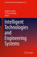 Cover image for Intelligent technologies and engineering systems